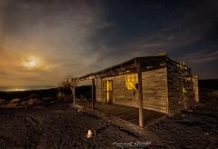 Western (ismaguell) Tags: longexposure largaexposicion nightscape nocturnas noche night almería tabernas ruinas abandonado ruins abandoned