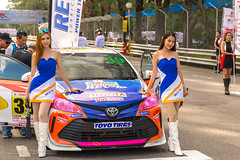 XOKA7334s2 (Phuketian.S) Tags: girl woman women toyota motor sport toyotamotorsport pit pitlane altis corolla phuket thailand show sexy shoes long legged beauty red white phuketian fast fun fest people car skirt dress boots color shy fastfunfest toyotafastfunfest toyotamotorsport2018 toyotaonemakerace daretorace livealive racing saphanhin pretty