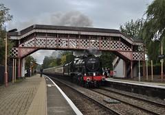 46100 Royal Scot (Martin Creese) Tags: 46100 royal scot saphos trains wilmcote railway railtour nikon d90 september 2018