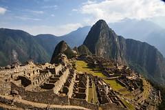 Machu Picchu, Peru (szeke) Tags: machupicchu mountain landscape landmark ruins sky clouds