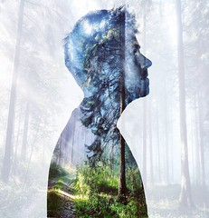 •The forest inside us• (Alexander Kotlyarov) Tags: gomel vgomele soul nature trees portrait gomeltoday creativeace hvmansouls enterimagination visualambassadors discoveredit globalcreatives photoshopid simplycooldesign milliondollarvisuals graphicroozane moodygrams canonphotography canon600d photography contemporaryart conceptual people beautiful man
