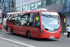 AL SLS27 @ West Croydon bus station (ianjpoole) Tags: arriva london wright streetlite max df sk17hjo sls27 working route 410 crystal palace bus station beddington gardens wallington