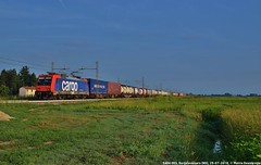 E484 005 (MattiaDeambrogio) Tags: e484 sbb cargo italia international borgolavezzaro traxx container merci timo mortara
