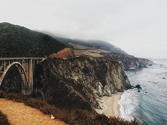 Bixby Bridge (dqlam) Tags: highway1 bixbybridge beach bigsur pointlobos rock bridge wave pier photography shore olympus landscape mountain nature scenery hiking coast coastline california monterey mcwayfalls roadtrip
