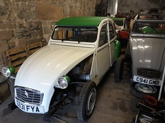 2CV6 work continues (Live to Drive2) Tags: live drive citroen 2cv 2cv6 special dolly 1986 peak