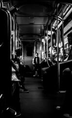 Early morning train, Vancouver (Basajear) Tags: vancouver bc canada bw monochrome bandw blackandwhite blacknwhite blackwhite mono monochromatic blackandwhiteworld photography blackandwhitestreet people photo street streetphotography streetphoto streetstories streetsofvancouver candid basajear fujifilm finepix