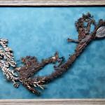 metallic bonsai, native silver and copper thumbnail