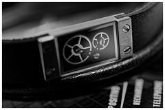 Macro Mondays #Cogwheel (T.Seifer : )) Tags: macromondays macro cogwheel metal leather gears light bokeh blackandwhite blackwhite makro bracelet hmm