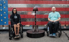 2018 9/11 Heroes Run (Travis Manion Foundation) Tags: wheelchairs vau fallenheroesmemorial dogtags flag
