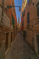 Venice narrow street (y.mihov, Big Thanks for more than a million views) Tags: venice venezia italy city isle islands sonyalpha sightseeing sigma 1224mm wide winter wealth street urban europe europa day door detail trespass travel tourist town window walks