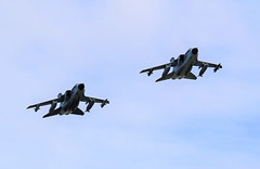 TWO GERMAN AIR FORCE TORNADOS APPROACHING RAF CONINGSBY (toowoomba surfer) Tags: jet aeroplane aviation aircraft luftwaffe