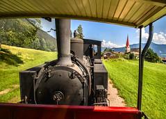 Achenseebahn (ricsrailpics) Tags: austria autriche achensee lakeachen tyrol railway steam narrowgauge church 2018