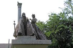 Szeged - Szent István és Gizella szobra