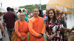Cambodian Buddhism is alive in America. (kuntheaprum) Tags: waterfestival lowell massachusetts festival dragonboat nikon d750 tamron 2470mm f28