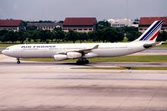 Air France   Airbus A340-300   F-GNIF   Bangkok Don Muang (Dennis HKG) Tags: airfrance france afr af aircraft airplane airport plane planespotting skyteam bangkok donmuang don mueangdmkvtbdbkkairbusa340a340300airbus a340airbus a340300 fgnif