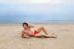 Kurtis (AshlandT) Tags: chicago kurtisjames atp ashlandthomas aussiebum speedo beach swimsuitmodel malemodel