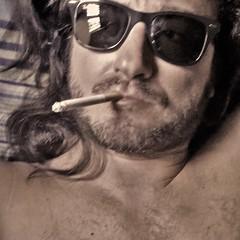 Mr. MUSCARA' (giovanni.muscara28) Tags: fotografia photography io me je lifestyle freedom good cool beard barba fotoprofilo giovannimuscarà sunglasses photo pic rock cigarette summer estate