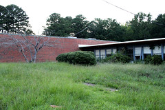 IMG_1110 (jared_trussell) Tags: abandoned highschool school abandonedschool abandonedhighschool hueytown hueytownhighschool vacant overgrown forgotten history old dilapidated crumbling broken