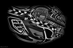 Rule The Roost!!! (HiJinKs Media...) Tags: troyleedesigns helmet design art gnar spade mountainbike d3 details black white blackandwhite blackwhite blancoynegro biancoenero