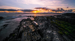 Irish Coast (Ray Moloney Photography) Tags: ifttt 500px seascape ireland sunset dramatic sky sunrise moody dawn twilight horizon moon setting fog evening coast ocean atlantic long exposure clouds rocks seaweed orange blue