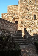 Malaga (Andalousie) (Iwokrama) Tags: espagne andalousie malaga alcazaba palais périodemaure muraille architecture