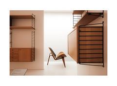 543682345970286123483437 (Melissen-Ghost) Tags: fuji film fujifilm x100f simulation classic chrome grain architecture museum architektur color photography farbfotografie munich münchen art minimalist minimalism design chairs