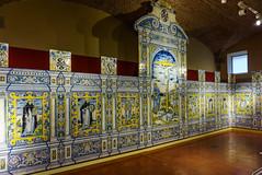 RETABLO (bacasr) Tags: plasencia cáceres extremadura españa spain retablo altarpiece ancient antiguo ceramics azulejos tiles viajando travelling cerámica museo museum catedral cathedral