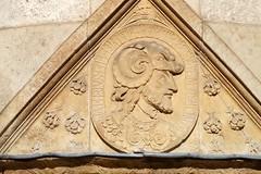 Hôtel Lallemant à Bourges (Philippe_28) Tags: bourges berry 18 cher france europe hôtel lallemant renaissance sculpture priam