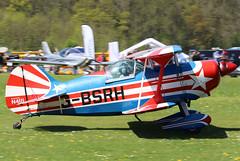 G-BSRH (GH@BHD) Tags: gbsrh n1111 pitts pittsspecial s1 s1c pittss1cspecial biplane stunt aerobatic pophammicrolighttradefair2018 pophamairfield popham aircraft aviation