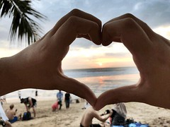 #Love the #Sunset at the #beach of #Kuta in #Bali - #picoftheday #pictureoftheday #travel #sun (DETart) Tags: love sunset beach kuta bali picoftheday pictureoftheday travel sun