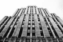 Aldred Building (stephaneblaisphoto) Tags: architecture art deco building exterior built structure city day façade height low angle view modern nature no people office outdoors sky skyscraper tall high tower travel destinations window artdeco bw blackandwhite monochrome