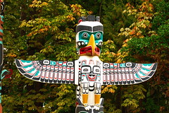 Standley Park (AndyRees1) Tags: vancouver parks totempoles statues steamclock standleypark totumpoles britishcolumbia canada 124