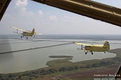 2018-09-08 Szatymaz IMG_5512_ HA-MBJ + HA-YHD (horvath.balazs1980) Tags: antonov an2 ancsa colt kétfedelű biplane szatymaz lhst ha hambj hayhd repülőnap airshow