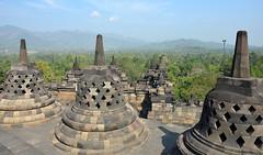 Borobudur, Java, Indonesia (2) (josepsalabarbany) Tags: borobudur temple java indonesia budist stupa tourists buddha architecture buda serenity buddhism budisme sculpture