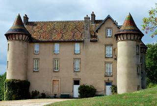 Saint-Eugène (71) ; château des Crots