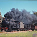 11.10.1969 near Melrose locos SAR T240 + T251 on ARHS special Farewell to Narrow Gauge (mb-s005-09)