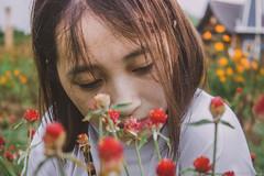 IMG_4702 (Haru2212) Tags: girl ngoàitrời người lightroom nature natural naturalbeauty canon sunday canon450d smile magic vietnamese vietnam flower portrait cây
