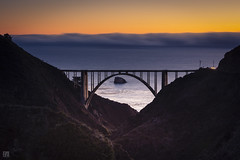Bixby Bridge 3 (lycheng99) Tags: bixbybridge bixby sky ocean pacificcoast pacificocean california californiacoast dusk sunset bridges bridge valley landscape nature island