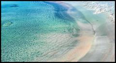 Wrinkles in Time (The Pink Beach) (Ramon Quaedvlieg Photo) Tags: greece crete elafonisi elafonisibeach mediterranean mediterreneansea aqua water blue pink landscape seascape outdoor nature naturereserve deerisland chania beach sand wrinkles colours idyllic abstract