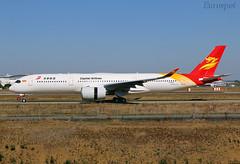 F-WZGQ Airbus A350 Capital Airlines (@Eurospot) Tags: airbus a350 a350900 toulouse blagnac fwzgq b1070 capitalairlines