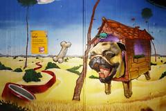 Wandmalerei im Bahnhof Köln - Ehrenfeld (guentersimages) Tags: köln kunst graffitikunst graffiti streetart wandmalerei ehrenfeld bahnhof muralpainting painting malerei
