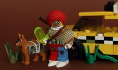 Clownpoc coming soon... (Jan, The Creator) Tags: lego apoc apocalypse postapoc cab clownpoc clown
