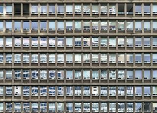 Windows, Residential Apartments, Toronto, Ontario
