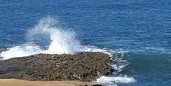 spray, Sunset Cliffs (Martin LaBar (going on hiatus)) Tags: california sandiegocounty sunsetcliffs splash spray rock pacificocean water