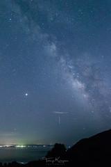 Perseid meteor shower (tetsuyakatayama) Tags: star starlight meteor perseid meteorshower sky skyscape landscape nightscape night nightview milkyway nagasaki japan