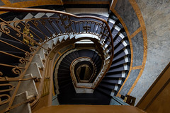 Staircase No. 25 (Sascha Gebhardt Photography) Tags: nikon nikkor d850 1424mm lightroom deutschland germany photoshop travel tour treppenhaus treppe staircase stairs steps reise roadtrip reisen