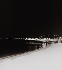 Night on my sea (Emanuele Joshua Sottile) Tags: ricirdi bn bnw sabi mer mare sud coteazur saintemaxime sea