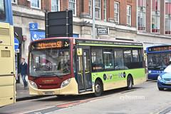 Go Ahead East Yorkshire 503, MX12CFG. (EYBusman) Tags: go ahead east yorkshire motor services eyms hull bus coach brooke street city centre alexander dennis enviro 200 ace travel liverpool mx12cfg eybusman
