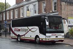 YJ17CYE  G-Line, Lytham St Annes (highlandreiver) Tags: yj17cye yj17 cye g line coaches holidays lytham st annes van hool tx bus coach carlisle cumbria