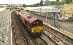 66057 Maidstone West (localet63) Tags: class66 66057 ews maidstonewest 6y93 hoppers
